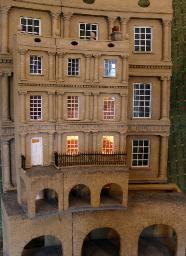 Bath Circus dollshouse small scales