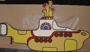 yellow submarine cut-out